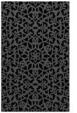 rug #984293 |  black popular rug