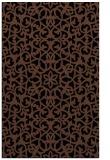 rug #984301 |  brown traditional rug
