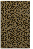 rug #984313 |  mid-brown damask rug