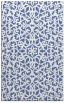 rug #984333 |  blue popular rug