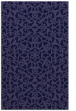 rug #984373 |  blue-violet rug
