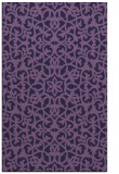 rug #984385 |  blue-violet traditional rug