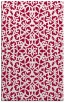 rug #984405 |  red traditional rug