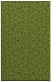 rug #984413 |  green traditional rug