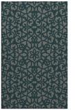 rug #984417 |  green damask rug