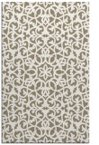 rug #984441 |  white damask rug