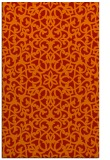 rug #984537 |  red traditional rug