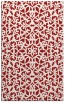 rug #984541 |  red traditional rug