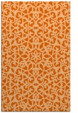rug #984553 |  red-orange traditional rug