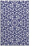 rug #984573 |  white damask rug