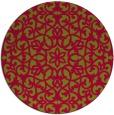 rug #984771 | round damask rug