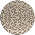 rug #984797 | round beige popular rug