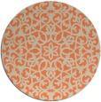rug #984853 | round beige geometry rug