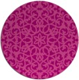 rug #984861   round pink traditional rug