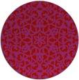 rug #984905 | round pink traditional rug