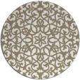 rug #984945 | round traditional rug