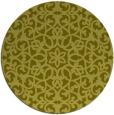 rug #984973 | round light-green damask rug