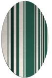 rug #98529   oval green rug