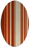 rug #98596 | oval stripes rug