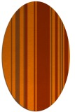 rug #98653 | oval red-orange rug