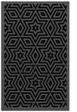 rug #987533 |  black borders rug