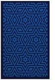 rug #987557 |  blue borders rug