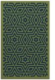 rug #987569 |  blue geometry rug
