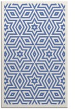 rug #987573 |  blue borders rug