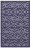 rug #987617    blue-violet graphic rug