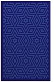 rug #987629 |  blue-violet graphic rug