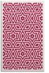 rug #987645 |  red geometry rug