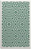 rug #987661 |  green graphic rug