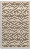 rug #987677 |  mid-brown borders rug