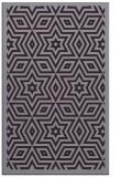 rug #987769 |  purple graphic rug