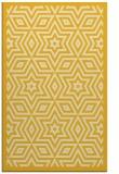 rug #987829 |  yellow borders rug