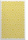 rug #987841 |  yellow borders rug