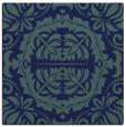 rug #987925 | square blue damask rug