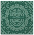 rug #987941 | square blue-green traditional rug