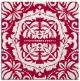 rug #988005 | square red rug