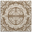 rug #988037 | square beige traditional rug