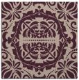 rug #988045   square pink damask rug