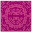 rug #988101   square pink damask rug