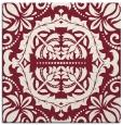 rug #988105   square pink damask rug