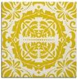 rug #988169 | square white damask rug