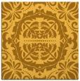 rug #988205 | square yellow rug