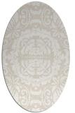 rug #988403 | oval damask rug
