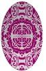rug #988441 | oval damask rug