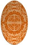 rug #988514   oval traditional rug