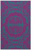 rug #988689 |  pink traditional rug