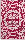 rug #988725 |  red traditional rug